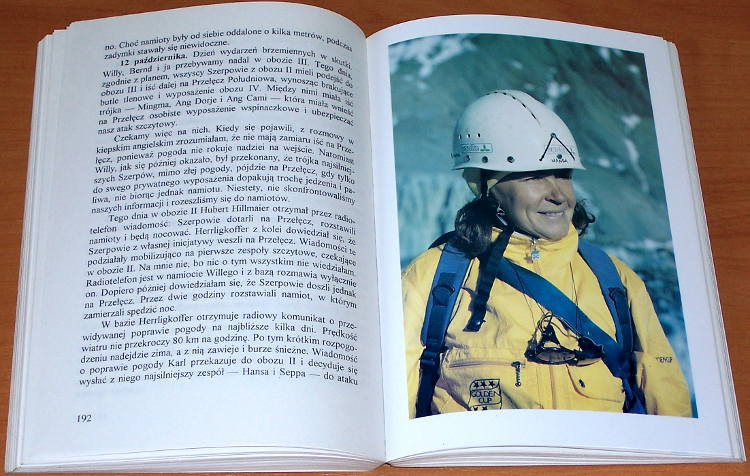 Rutkiewicz-Wanda-Matuszewska-Karawana-do-marzen-At-Publ-1994-Himalaje-Himalaya-Gory-Mountains-Mountaineering-Climber
