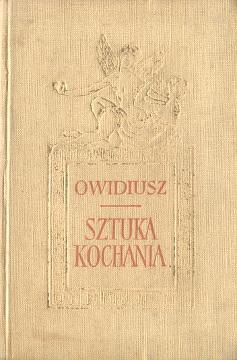 Ars amatoria Owidiusz Sztuka kochania Ejsmond Stefanowski Ovidius Naso Publius wba0107