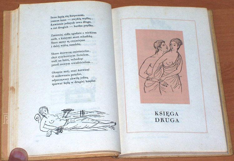 Owidiusz-Publius-Ovidius-Naso-Sztuka-kochania-Warszawa-PIW-Panstwowy-Instytut-Wydawniczy-1957-Ars-amatoria-Ejsmond