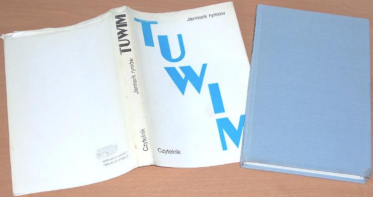 Tuwim-Julian-Jarmark-rymow-Warszawa-Czytelnik-1991-poezja-poetry-Pisma-zebrane-Oprac-Stradecki
