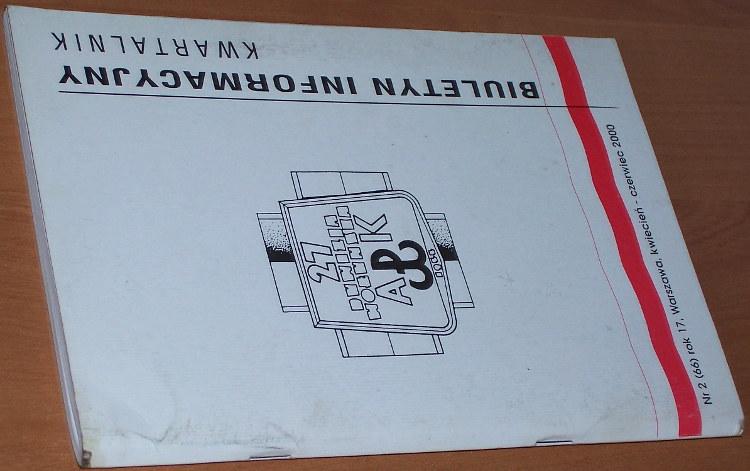 Biuletyn-Informacyjny-27-Wolynska-Dywizja-Armii-Krajowej-Kwartalnik-2000-nr-2-66-kwiecien-czerwiec-Warszawa-SZZ-AK