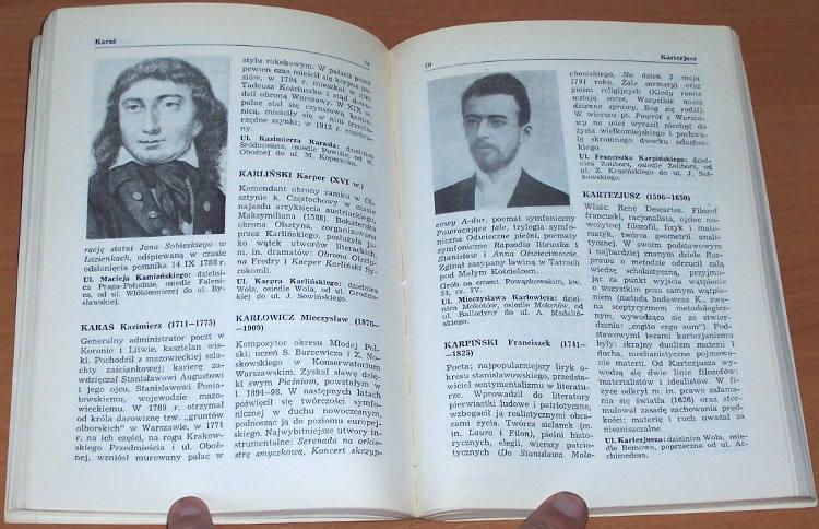 Od-Agrykoli-do-Zywnego-Maly-slownik-patronow-ulic-warszawskich-Warszawa-LSW-Ludowa-Spoldzielnia-Wydawnicza-1968