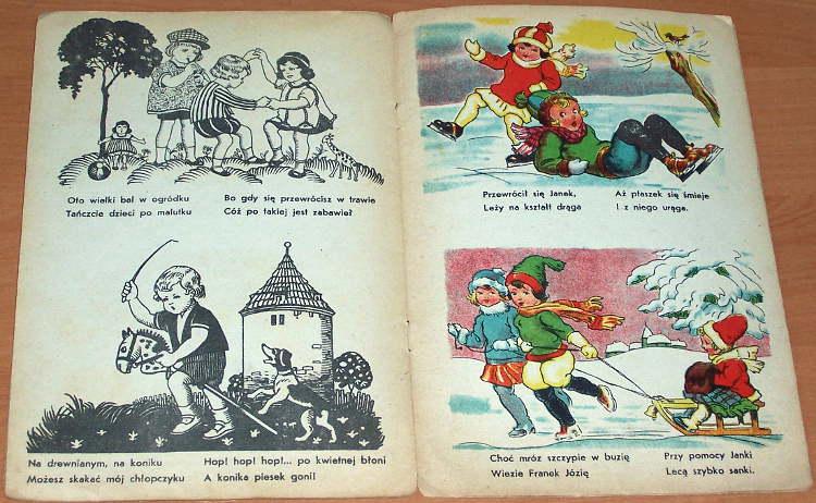 Acedanscy-I-Z-Nowakowska-Acedanska-Irena-Acedanski-Zygmunt-Bawmy-sie-Krakow-Biblos-1948-ksiazeczka-dla-dzieci