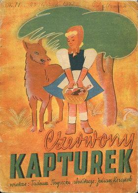 Słupecki Slupecki Czerwony Kapturek Książek Ksiazek dziecko dla dzieci rysunki wba0131