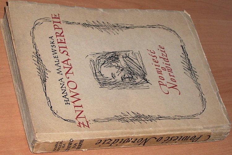 Malewska-Hanna-Zniwo-na-sierpie-Powiesc-o-Norwidzie-Poznan-Wielkopolska-Ksiegarnia-Wydawnicza-1947-wydanie-pierwsze
