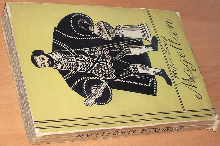 Zweig-Stefan-Magellan-Warszawa-Wydawnictwo-J-Przeworskiego-1949-druk-1950-przeklad-Zofii-Petersowej