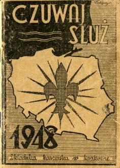 Czuwaj Służ Kalendarzyk harcerski na rok 1948 harcerz harcerstwo wba0141