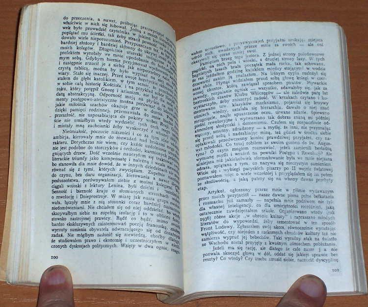 Milosz-Czeslaw-Rodzinna-Europa-Gdansk-Litery-1985-Wydanie-bezdebitowe-podziemne-drugoobiegowe-bibula