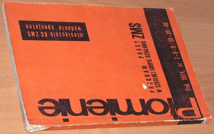 Plomienie-Mies-KC-ZMS-Wyd-szkolne-Nr-7-9-38-40-wrzesien-1964-Wyd-Spec-Program-pracy-w-szkolnej-grupie-dzialania-ZMS