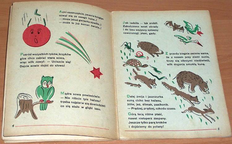 Kopiasz-Czeslaw-A-to-komar-z-debu-spadl-Krakow-Wydawnictwo-Reklama-1948-Czecholit-ksiazeczka-dla-dzieci