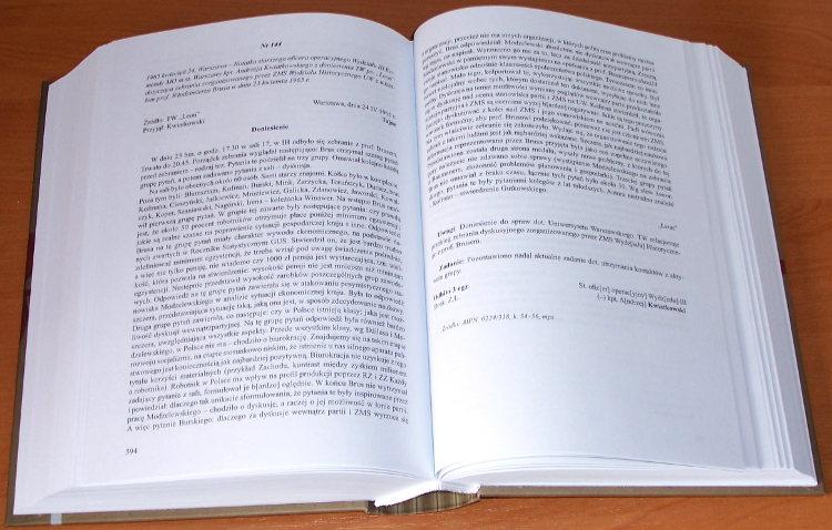 Marzec-1968-w-dokumentach-MSW-Tom-1-Niepokorni-Warszawa-IPN-Instytut-Pamieci-Narodowej-2008-wydarzenia-marcowe