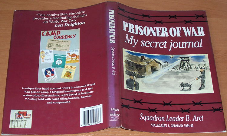 Arct-Bohdan-Prisoner-of-war-My-secret-journal-Squadron-leader-B-Arct-Stalag-Luft-1-Germany-1944-45-Webb-Bower-Joseph-1988