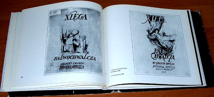 Schulz-Bruno-The-Booke-of-Idolatry-Interpress-1988-Ficowski-Piotrowska-Xiega-balwochwalcza-Drawings-album-Rysunek