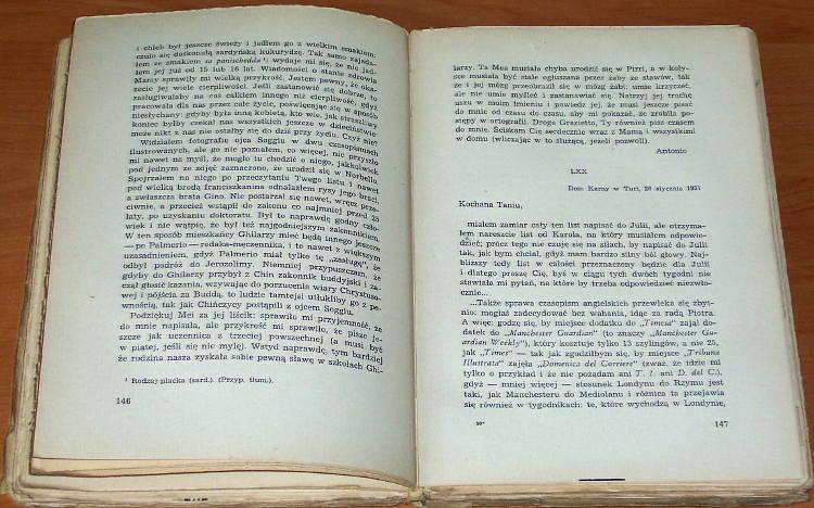 Gramsci-Antonio-Listy-z-wiezienia-Czytelnik-1950-Brahmer-Lettere-dal-carcere