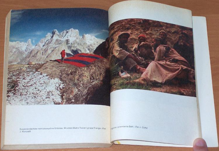Kurczab-Ostatnia-bariera-Wyprawa-na-K2-drugi-szczyt-swiata-Sport-i-Turystyka-1980-Mountain-alpinizm-Karakorum