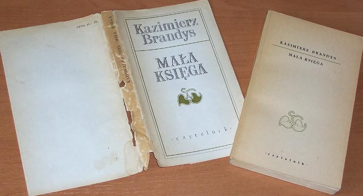 Brandys-Kazimierz-Mala-ksiega-Warszawa-Czytelnik-1970