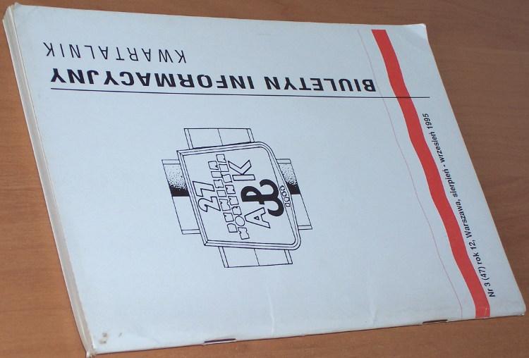 Biuletyn-Informacyjny-27-Wolynska-Dywizja-Armii-Krajowej-Kwartalnik-1995-nr-3-47-sierpien-wrzesien-Warszawa-SZZ-AK