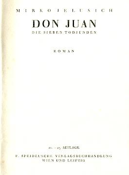 Jelusich Don Juan Die sieben Todsünden Roman Todsunden wba0197