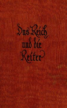 Schimmel-Falkenau Das Reich und die Reiter Ferdinand von Schill wba0198