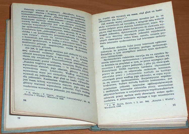 O-komunistycznej-moralnosci-Zbior-artykulow-Warszawa-Iskry-1953-komunizm