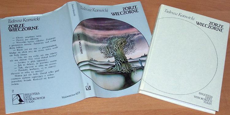 Konwicki-Tadeusz-Zorze-wieczorne-Warszawa-Wydawnictwa-Alfa-1991-twarda-oprawa
