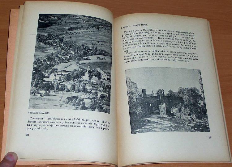 Ludwig-Wanda-Ziemia-Klodzka-Warszawa-Nasza-Ksiegarnia-1950-Biblioteka-Polskiego-Towarzystwa-Krajoznawczego-Piekno-Polski