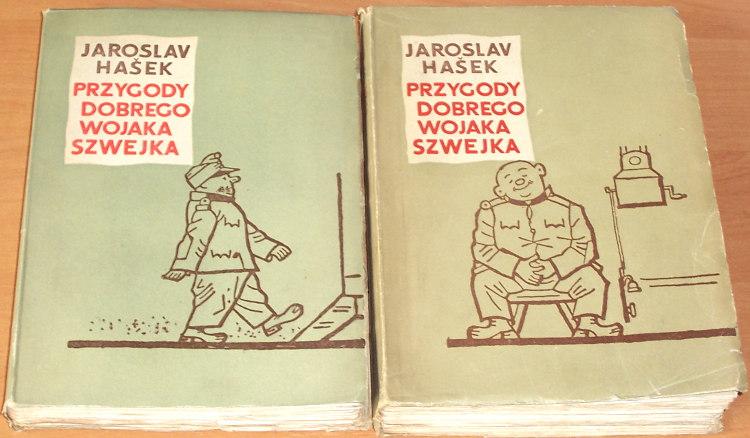 Hasek-Jaroslav-Przygody-dobrego-wojaka-Szwejka-podczas-wojny-swiatowej-1-2-3-4-Warszawa-PIW-1955-Szwejk