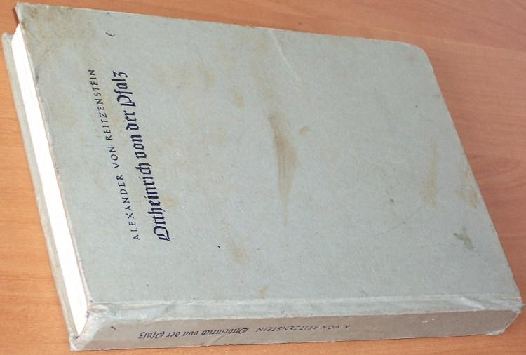 Reitzenstein-Alexander-von-Ottheinrich-von-der-Pfalz-Bremen-Berlin-Angelsachsen-Verlag-1938-1939
