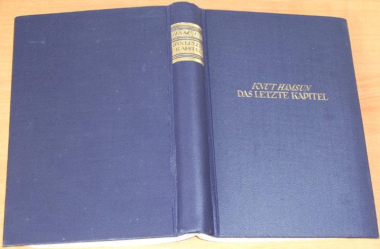 Hamsun-Knut-Das-letzte-Kapitel-Roman-Berlin-Verlag-von-Th-Knaur-Nachf-1928-Sidste-Kapitel-Magnus