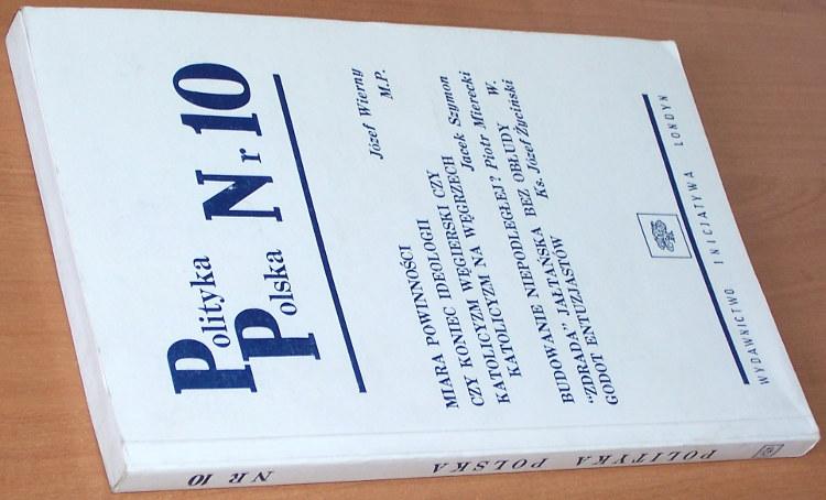 Polityka-Polska-Nr-10-Londyn-Wydawnictwo-Inicjatywa-1988