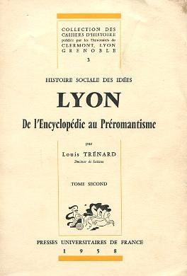 Trénard Trenard Lyon Encyclopedie au Preromantisme Eclosion du mysticisme wba0277