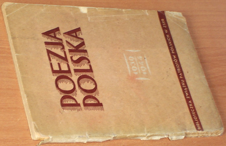 Poezja-polska-1939-1944-Moskwa-Zwiazek-Patrjotow-Polskich-w-ZSRR-1944-poetry