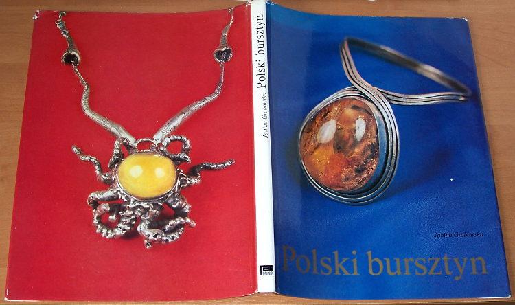 Grabowska-Polski-bursztyn-Interpress-1983-Zlotnictwo-amber-jantar-ambre-Bernstein-rzemioslo