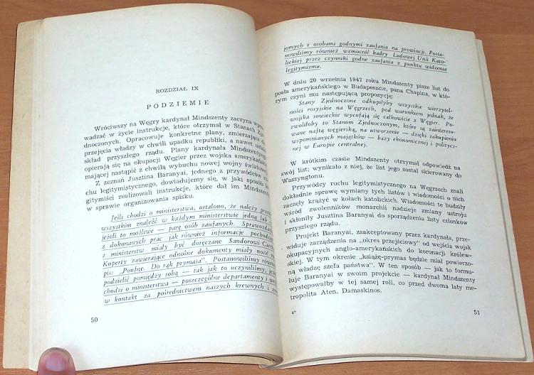 Malcuzynski-Karol-Wiernik-Bronislaw-Jozef-Pehm-Mindszenty-szpieg-w-kardynalskiej-purpurze-Warszawa-Ksiazka-i-Wiedza-1949
