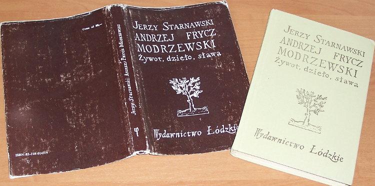 Starnawski-Jerzy-Andrzej-Frycz-Modrzewski-Zywot-dzielo-slawa-Lodz-Wydawnictwo-Lodzkie-1981-biografia
