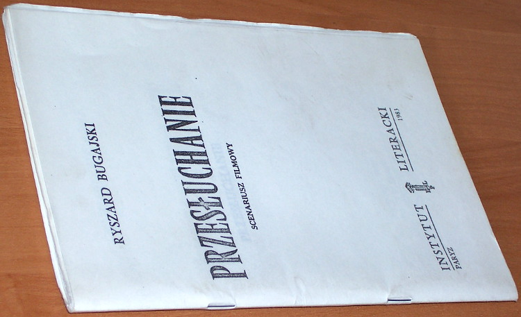 Bugajski-Ryszard-Przesluchanie-Scenariusz-filmowy-Lodz-Wydawnictwo-Spoleczne-Fakt-marzec-1989-Przedmowa-Sulik