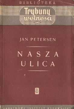 Petersen Nasza ulica Kronika pisana w sercu faszystowskich Niemiec 1933 1934 Schwalim Linke Unsere Strasse Chronik geschrieben im Herzen des faschistischen Deutschlands wba0328