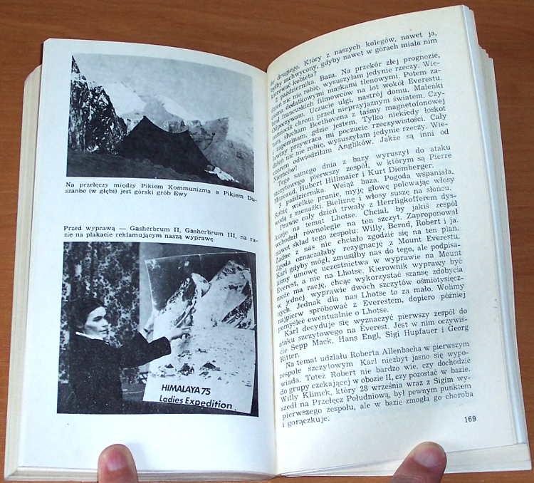 Rutkiewicz-Wanda-Matuszewska-Ewa-Na-jednej-linie-Krakow-Krajowa-Agencja-Wydawnicza-1986-wspinaczka-alpinizm-taternictwo