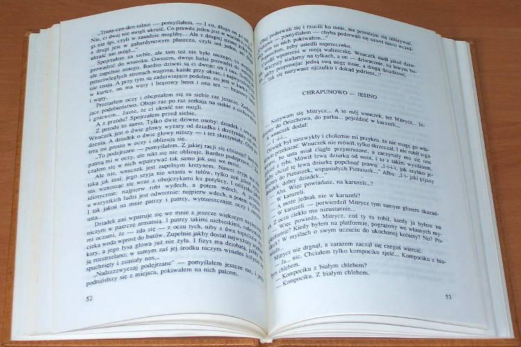 Jerofiejew-Wieniedikt-Venedikt-Vasilevich-Erofeev-Moskwa-Pietuszki-Poemat-Wroclaw-Wydawnictwo-Dolnoslaskie-1994