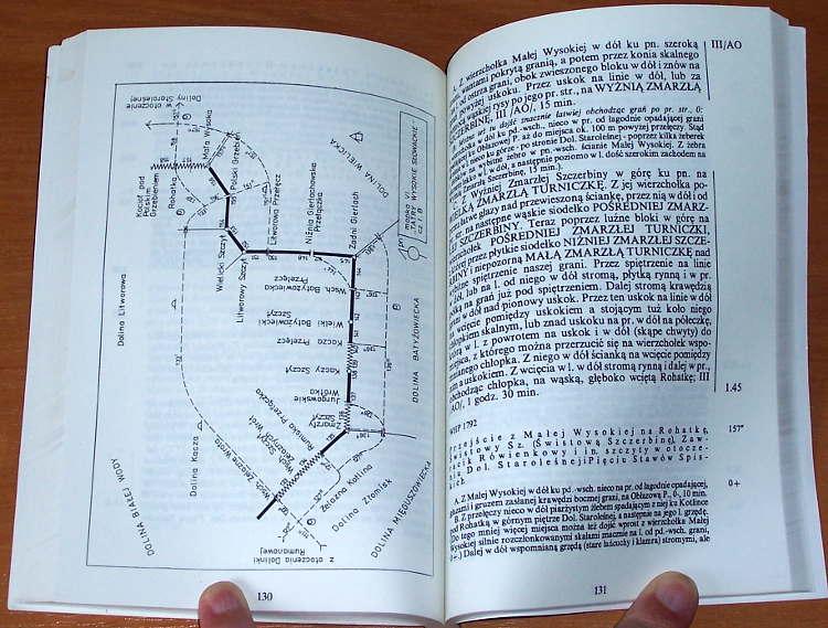 Piechowski-Adam-Gran-Tatr-Czesc-I-Hucianska-Przelecz-Zdiarska-Przelecz-Warszawa-Wydawnictwo-Text-1992-Tatry-Przewodnik