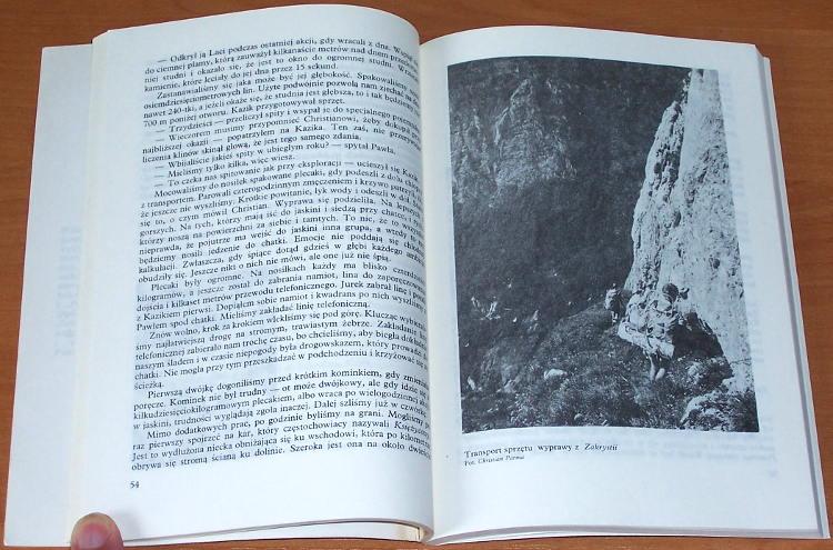 Rudolf-Wlodzimierz-Meander-na-minus-1000-Warszawa-Wydawnictwa-Geologiczne-1988-Alpinizm-jaskiniowy-speleologia-jaskinia