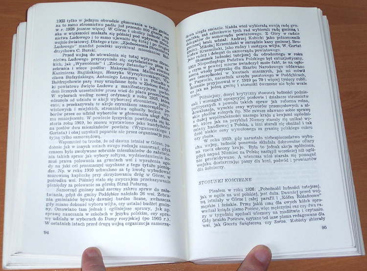 Gortat-Wincenty-Wies-Gora-Monografia-London-Veritas-1980-Gora-Baldrzychowska