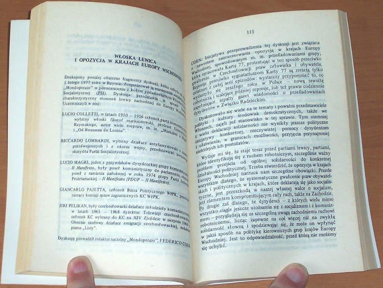 Aneks-Kwartalnik-polityczny-16-17-1977-London-Aneks-1977-Turbacz-opozycja-Eurokomunizm-Kolakowski-Carillo-Elleinstein
