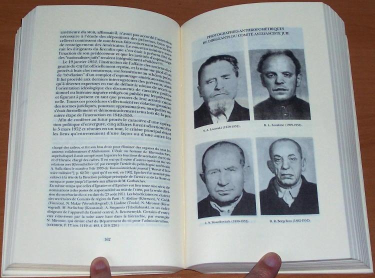 Kostyrtchenko-Prisonniers-du-pharaon-rouge-Les-repressions-politiques-contre-les-Juifs-en-URSS-de-Staline-Solin-Actes-1998