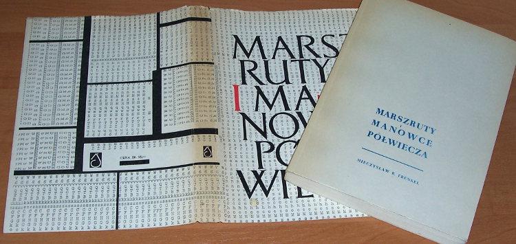 Frenkel-Mieczyslaw-Marszruty-i-manowce-polwiecza-Eseje-Katowice-Slask-1960