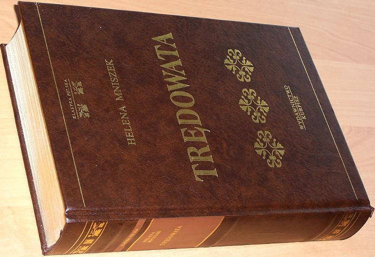 Mniszek-Helena-Tredowata-Powiesc-Poznan-Wydawnictwo-Kurpisz-2001-83-88276-63-8-Klasyka-Polska-zlota-seria