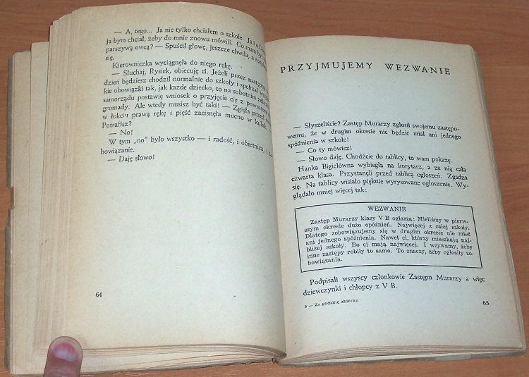 Tropaczynska-Ogarkowa-Weronika-Za-godzine-zbiorka-Opowiadania-Warszawa-Nasza-Ksiegarnia-1951-Biblioteka-Harcerza