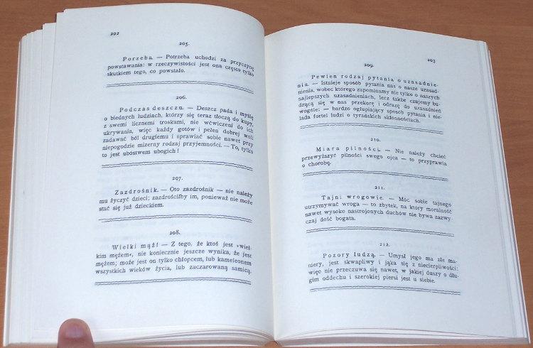 Nietzsche-Friedrich-Wiedza-radosna-La-gaya-scienza-Warszawa-Wydawnictwo-bis-1991-Die-froehliche-Wissenschaft