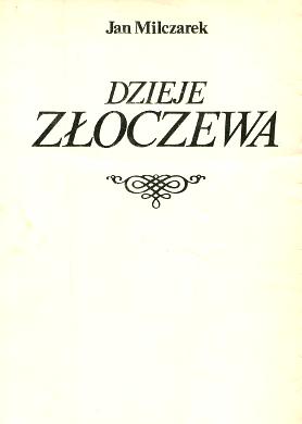 Milczarek Dzieje Złoczewa Zloczewa Złoczew Zloczew Błeszyński Bleszynski Błeszyńscy Bleszynscy wba0414