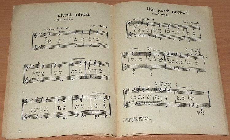 Swaton-Jozef-oprac-Piesni-ludowe-spiskie-orawskie-na-3-glosowy-chor-rowny-Lodz-Ludowy-Instytut-Muzyczny-1946